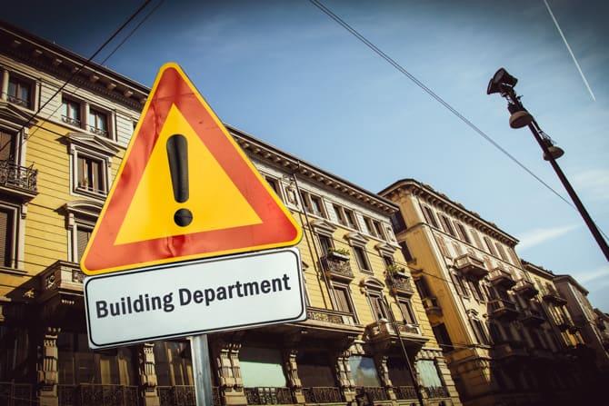 Building Department Sign
