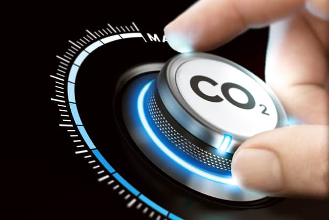 Hand with CO2 Dial