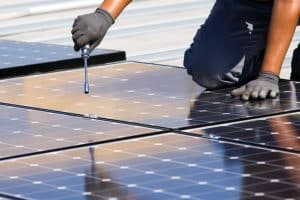 Solar Installtion with qualified electricians and roofers.