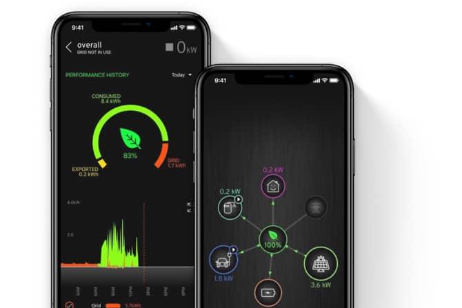Smart Home Phone App MyEnergi