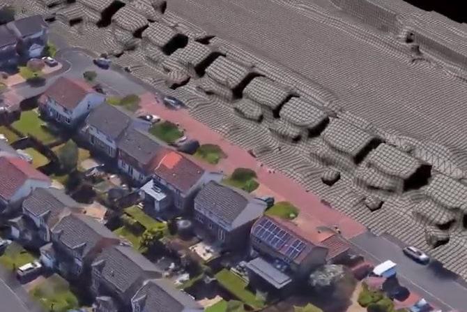 Virtual Reality Model of Neighborhood